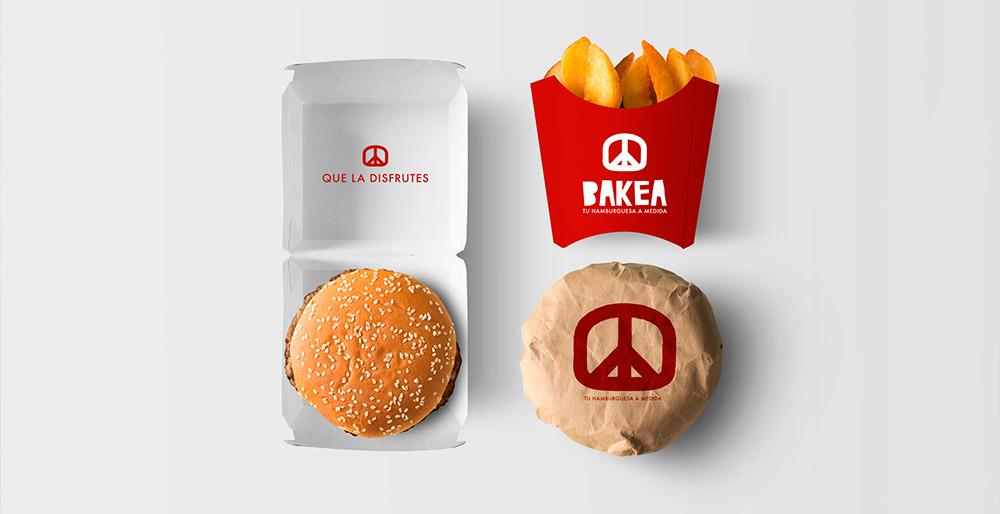 Diseño de identidad para restaurante BAKEA