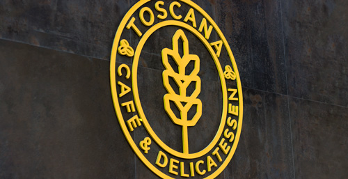 Diseño de identidad corporativa para Toscana