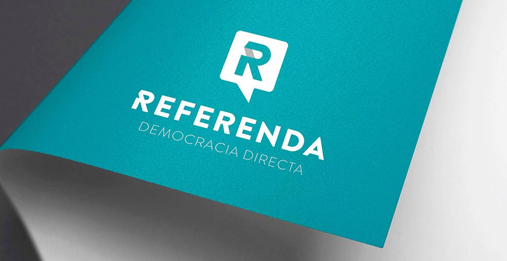 Logotipo para Referenda