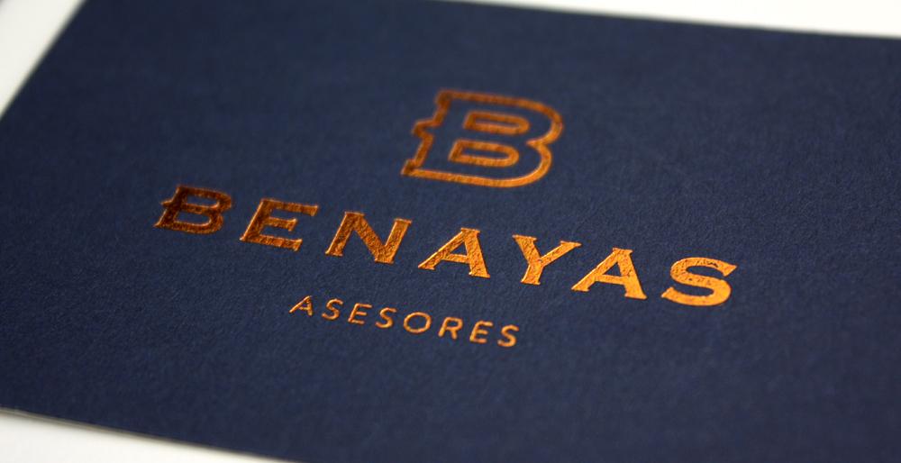Rediseño de identidad corporativa para Benayas