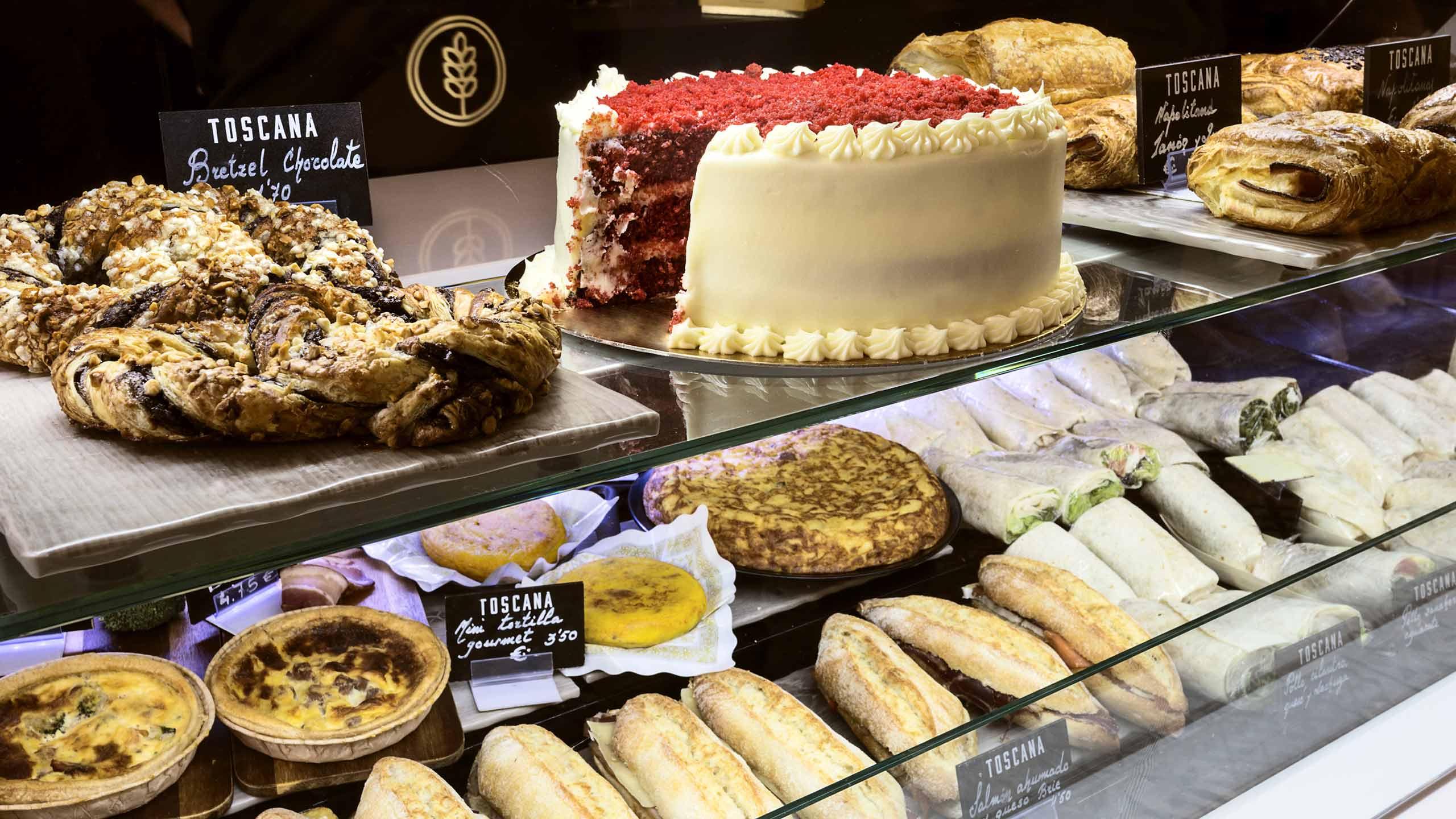 Diseño de pizarras para la cafetería Toscana Madrid