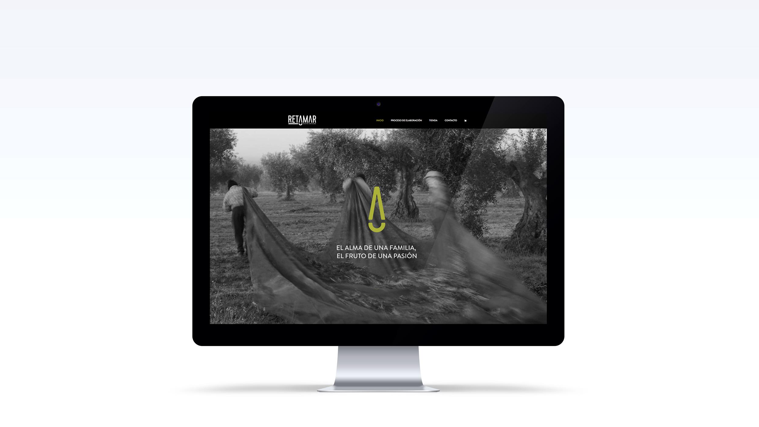Página web de Aceite Retamar