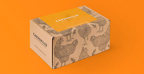 Creación de identidad corporativa para huevos ecológicos Cardenillo